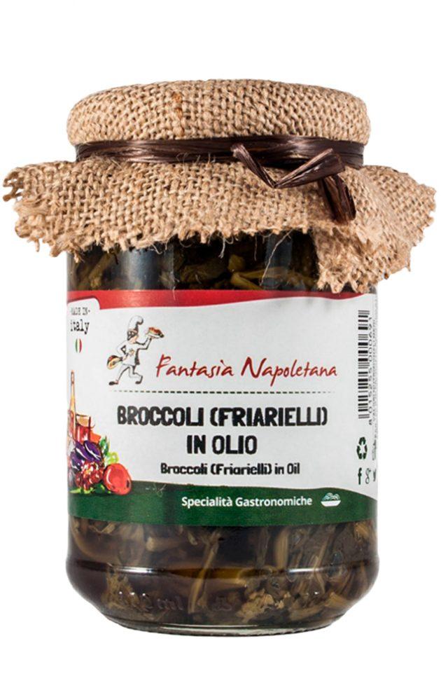 Broccoli (Friarielli) in olio